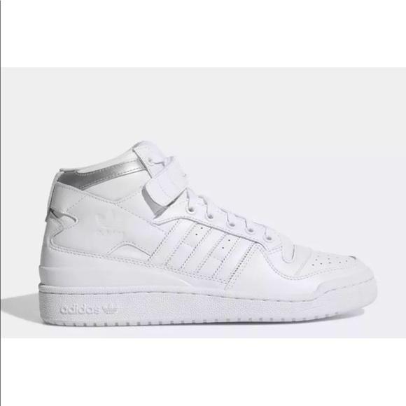 Adidas Shoes Original Forum Mid Refined Throwback Poshmark